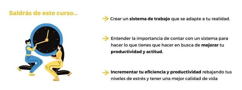 output gestion protuctividad